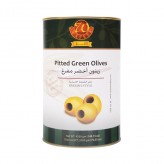 Spanish Style Pitted Green Olives  DWT: 2.000 Kg NWT: 4.200 Kg x 4 Tins
